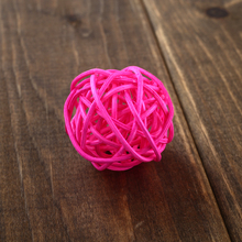 Bird Chew Toys | Parrot Rope Bites Swing Ball