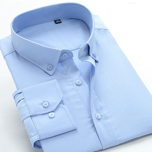 Image 4 - Neue comming herbst langarm Herren Bambus Faser shirts formale kleid shirts sehr große große plus größe XXL 5XL 6XL7XL8XL 9XL 10XL