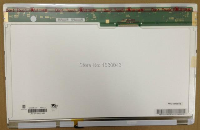 Envío gratis N154I6-L03 con pequeña cola para Lenovo G530 Y530 ASUS M50V N50VN laptop Compatible modelo : LP154WX7 TLA1 B154EW09 V.2