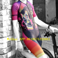 Cycling Jersey wear bike kits cycling High quality sexy Body skinsuit  roupa ciclismo speedsuit jumpsuit triathlon tbike jersey