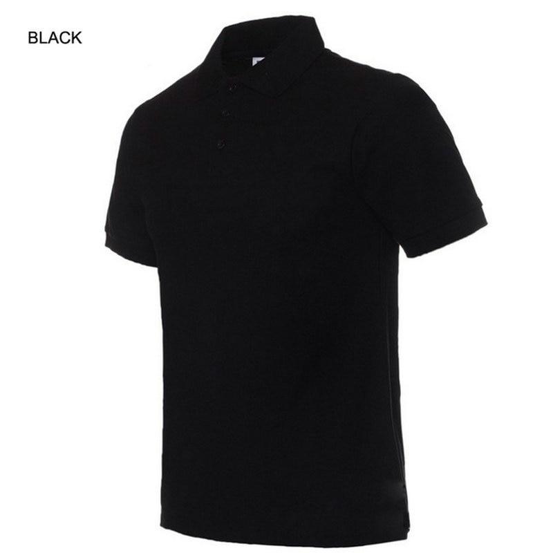 Moške polo majice, moške polne barve, polo majice Camisa Masculina, - Moška oblačila - Fotografija 6