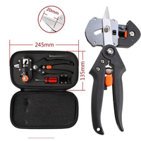 Professional Fruit Bonsai Tree Grafting Tools Secateurs Scissors Vaccination Knife Cutting Pruner Garden Tools With 2