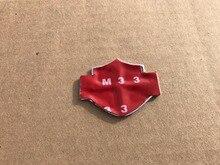 New Dois Para Blackline Cross Bones Cvo Dyna Tanque de Gás Gas Cap Logotipo 3 m da placa de Identificação Do Emblema Do Decalque Sm