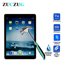 2pcs/Lot Ultra Thin Tempered Glass for 2017 iPad Pro 10.5, 9H Screen Protector 10.5 Protective Film