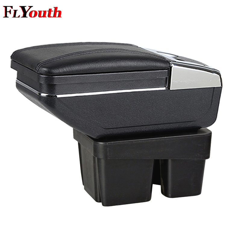 Car Armrest Box Styling Central Store Content Cup Holder Interior Car-Styling For Volkswagen Golf 7 2015 2016 2017