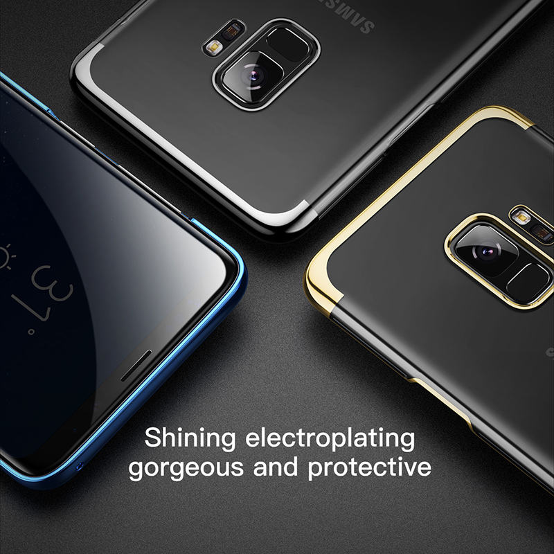 quality design 6cdd5 c6ffb US $6.79 20% OFF|Baseus Luxury Ultra Thin Case For Samsung Galaxy S9 S9  Plus Cases Capinhas Electroplating Hard PC Cover Case For Galaxy S9  Coque-in ...
