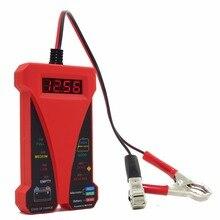 MOTOPOWER MP0514C 12 V Digitale Tester Batteria Auto Analizzatore con DISPLAY LCD e display A LED Voltmetro Alternatore Vernice di Gomma Rosso