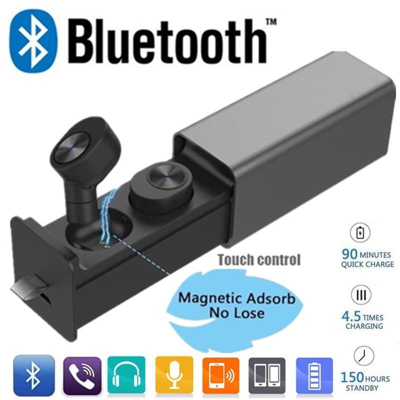 Mini GW10 TWS Earphones Wireless Bluetooth V4.2 Headset with Mic Handfree Sport Sweatproof Stereo Earbuds For iPhone Samsung