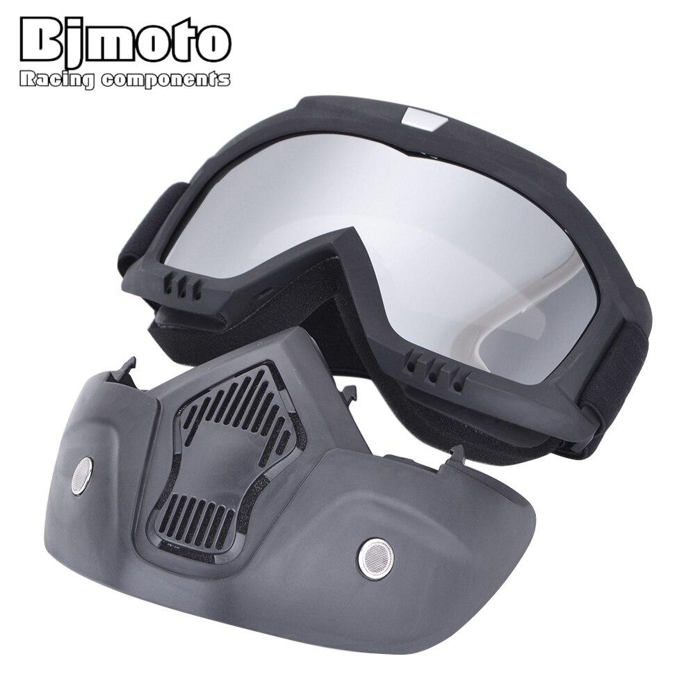 Motorrad Helm Goggle Maske Guy Männer Design Atmungsaktive Racing ATV Reiten Auge Tragen Okular Goggles Motocross Winddicht Gläser