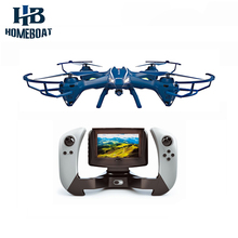 U818S-WIFI818 6-Axis Gyro RC Quadcopter 0.3MP FPV HD Camera/Remote Control Extra Battery Helicopter Drone Real-time Transmission
