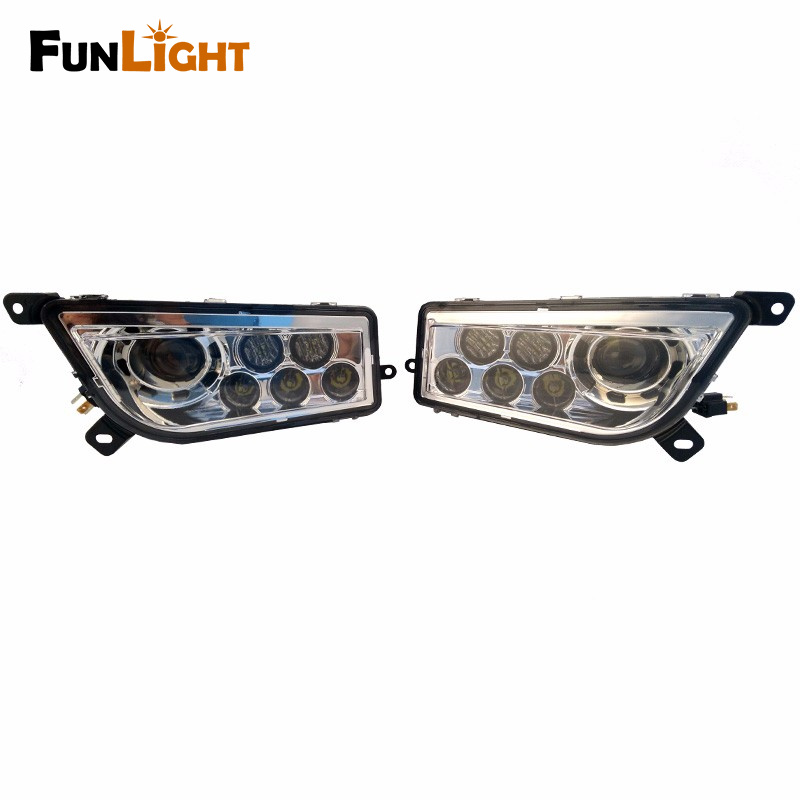 Polaris RZR Accessories ATV Led Headlights kit For 2014-2016 Polaris RZR XP 1000 Headlamp For Polaris RZR