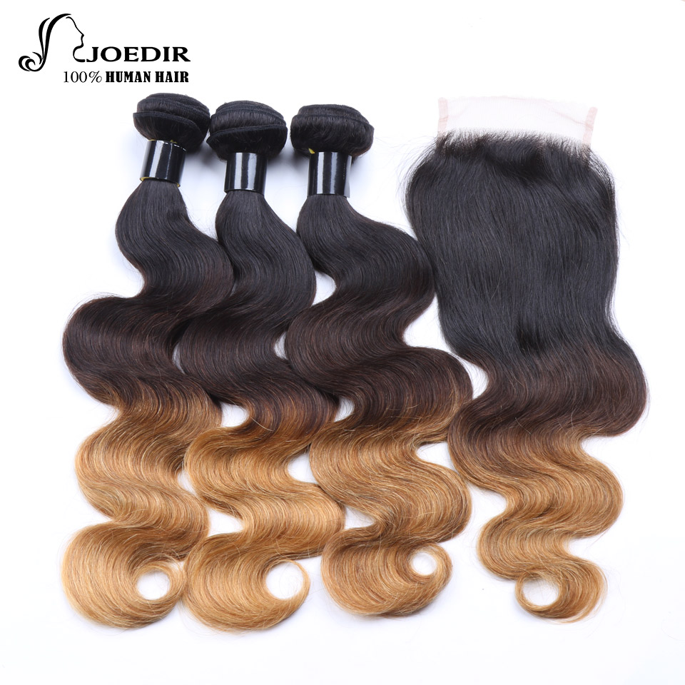 Techniques Joedir Pre Colored Ombre Indian Hair Body Wave Human
