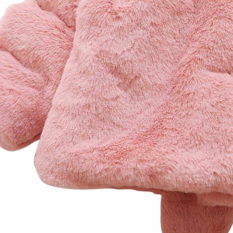Осеннее милое кашемировое пальто с капюшоном и пуговицами для маленьких мальчиков и девочек плотная теплая детская одежда