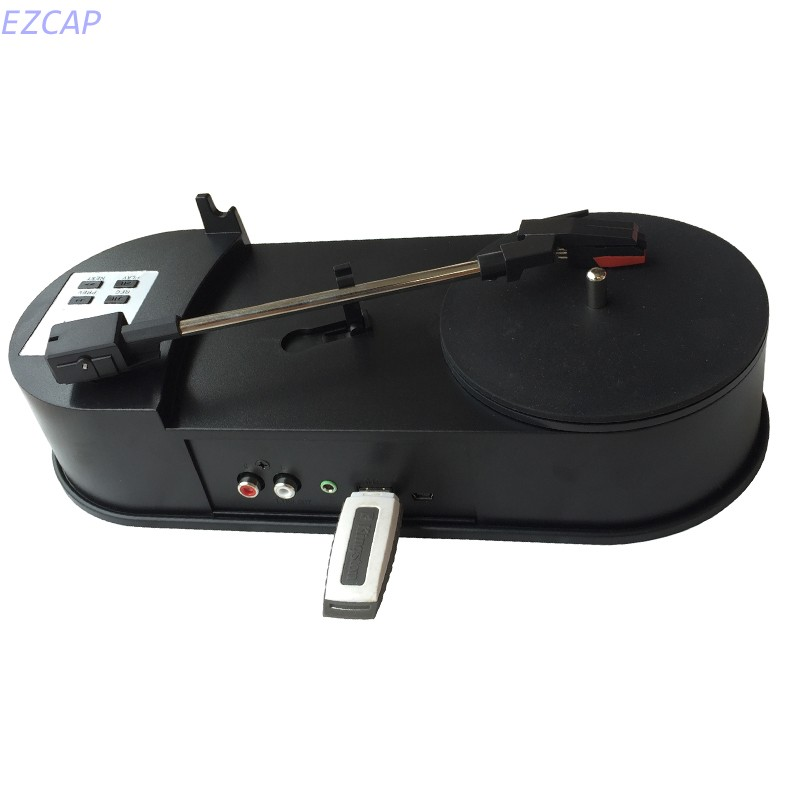 2017 new Phonograph Turntable Record Audio Player Vinyl Turntable to MP3/WAV/CD Converter save in USB Flash drive, Free shipping