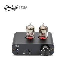 Sabaj PHA3 вакуумные наушники с трубкой Amp 2X6J9 низине Шум интегрированный стереоусилитель аудио HIFI Выход защиты для наушников