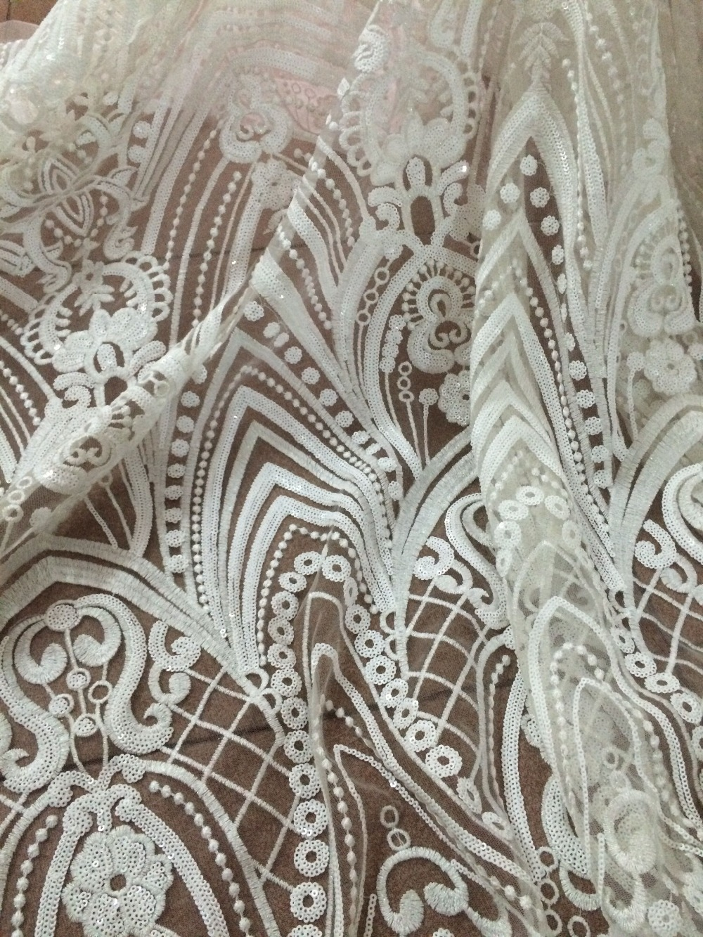 best quality Cyndi 8853 embroidered African Tulle Lace Fabric African French Lace Fabric with embroidery