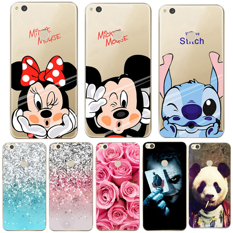 Soft TPU Case For Huawei Mate 10 Pro 10 Lite P9 P8 Lite Y6 Y5 Y3 2017 Pattern Cover For  ...