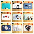 The factory wholesale cartoon animals Mat Bathroom Water Absorption Non-slip Rug Brand Carpet Floor MATS Household items