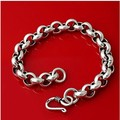 New 925 sterling silver jewelry fashion the couple bracelet interlocking silver bracelet