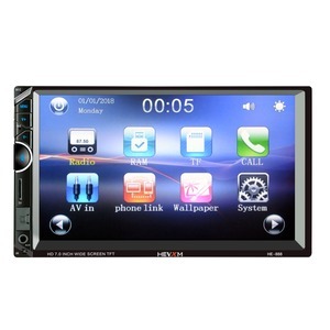Image 2 - 888 2 Din 12V Car multi function radio, touch screen,  7inch Car MP5 player for Apple Android Phone Interconnect