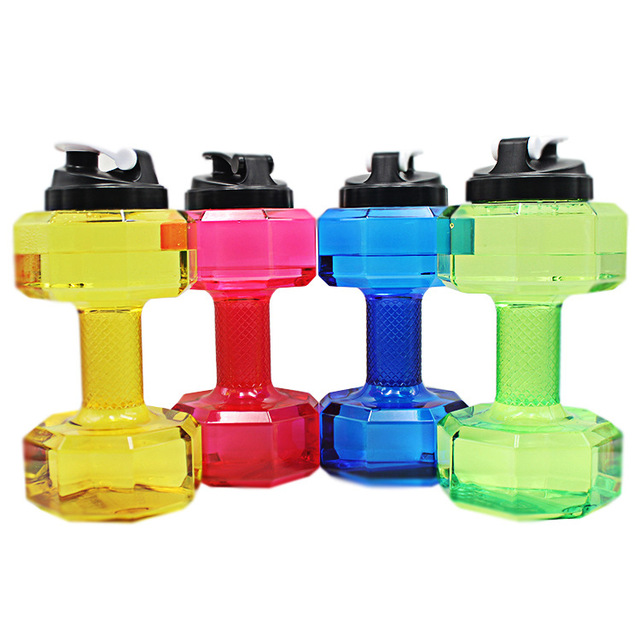2 in 1 Dumbbell and Water Bottle