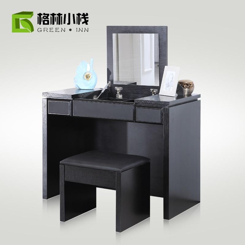 Chino peque o apartamento minimalista moderno moda madera - Tocador pequeno ...