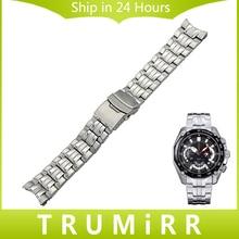Bracelet En Acier inoxydable pour Casio Édifice EF 500 512 524 527 530 544 547 550 554 Hommes Femmes Montre Bracelet Bande Bracelet