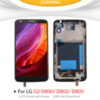AAA Quality LCD Display For LG G2 D802 D805 Screen Replacement With Digitizer Touch Screen Assembly