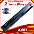 Batteria del computer portatile Per Asus X301A X301U X401 X401A X401U X501 X501A X501U A31-X401 A32-X401 A41-X401 A42-X401