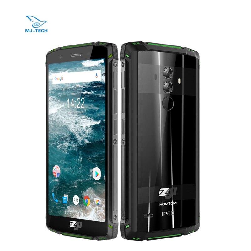 """グローバルバージョン HOMTOM ZOJI Z9 6 ギガバイト 64 ギガバイト RAM IP68 5500 mAh 防水携帯電話アンドロイド 8.1 5.7"""" 顔 Id 指紋スマートフォン  グループ上の 携帯電話 & 電気通信 からの 携帯電話 の中 1"""
