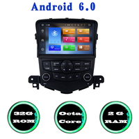 Android 6 0 Octa Core Car Radio Gps Player For Chevrolet Cruze 2008 2013 With 2G