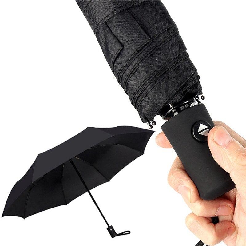 Windproof Ultralight Umbrella Rain Women Automatic Folding Men Umbrellas Lady Folding Since The Open Close Paraguas 8k 10k