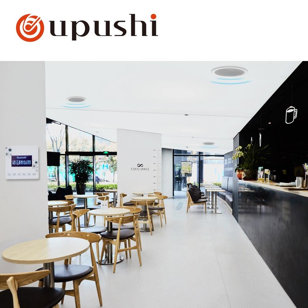 Oupush i A0 + ks818 petit système de cinéma maison système de musique de fond comprend hôte Bluetooth et haut-parleur ohm dans le plafond - 4