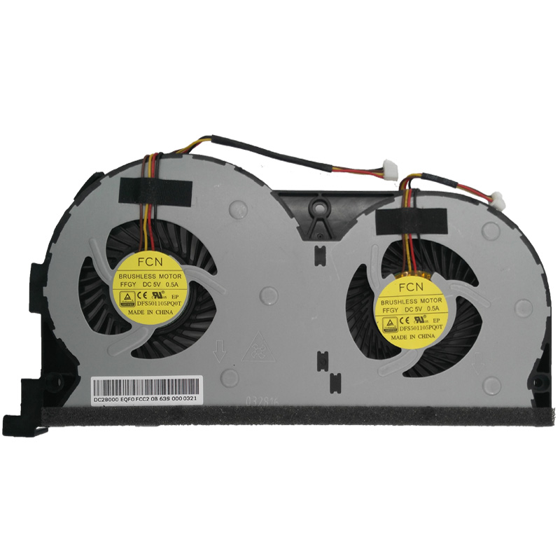 Купить с кэшбэком Brand New Laptop Cooling CPU FAN Repair Replacement for Lenovo Y50-70 Touch Series EG60070S1-C060-S99 DFS501105PQ0T