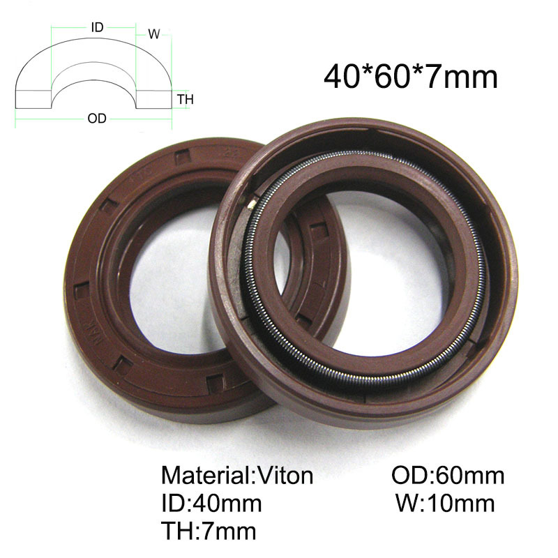 pack height, model Rotary shaft oil seal 37 x 52 x