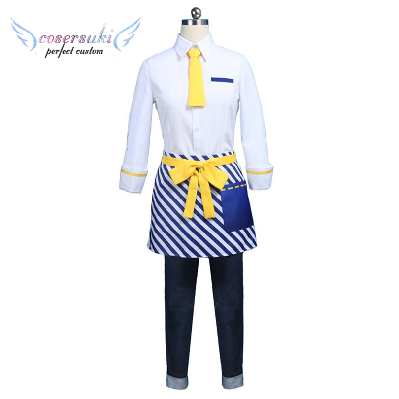 Actor'sCafe COS Rurikawa Yuki Cosplay Costumes Stage Performence Clothes ,Perfect Custom for You !