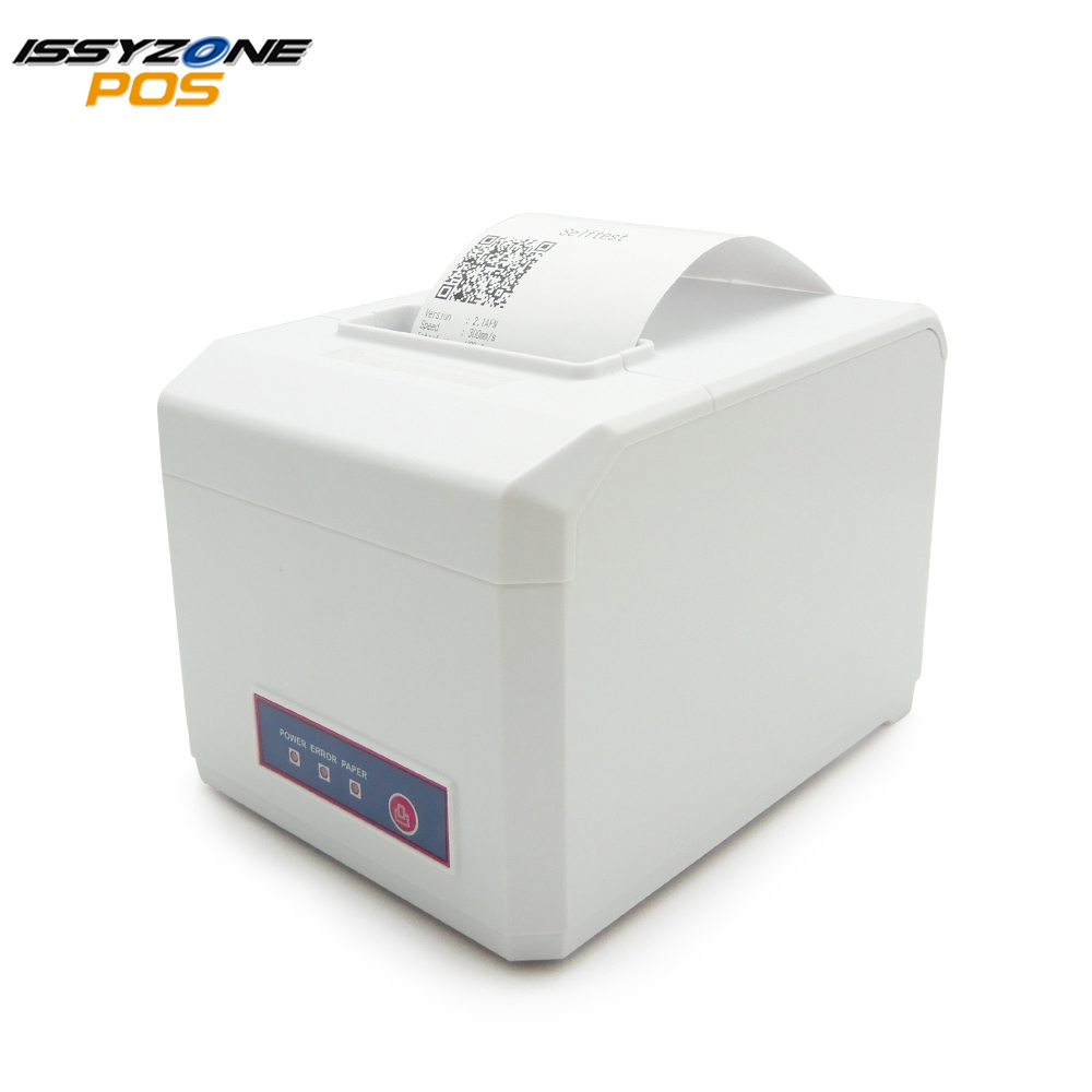 ITPP056 White Color 80mm Thermal Receipt POS Printer 300 m Auto Cutter USB Serial Wifi Ethernet