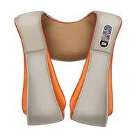 Electric Back Shoulder Neck Cervical Massage Shawls Device Body Heating Massager Home (EU Plug)