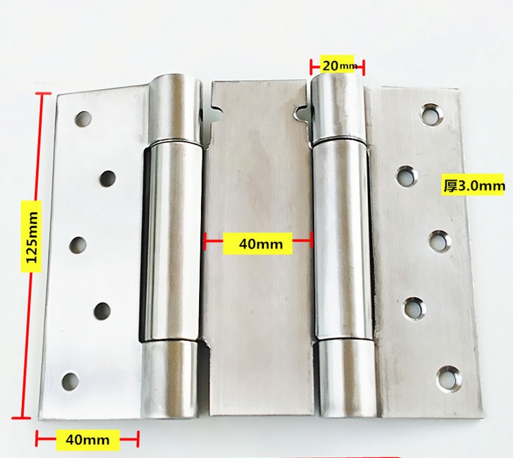 Free Door Spring Hinge Bidirectional Open Stainless Steel Automatic Door  Closing Device Cowboy Bar Wicket Hinges 2pcs In Door Hinges From Home  Improvement .