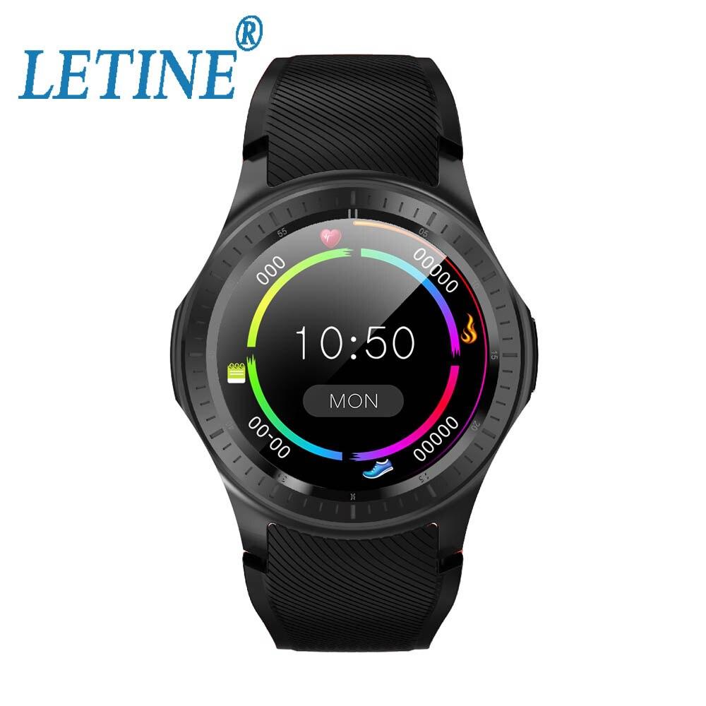 Letine 2019 DM368 Plus Smartwatch GPS gratuit APP téléchargements WIFI 2.4G/5.0G Fitness Tracker Android 7.1 4G 1G + 16 GB Smartwatch