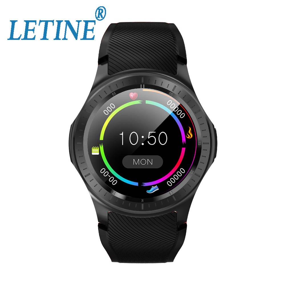 Letine 2019 DM368 Plus Smartwatch GPS Free APP Downloads WIFI 2.4G/5.0G Fitness Tracker Android 7.1 4G 1G+16GB Smartwatch image