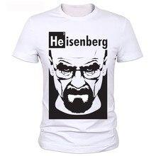 Футболка с надписью «Breaking bad», высокое качество, круглый вырез, Гейзенберг, Мужская футболка, короткий рукав, принт, Повседневная футболка с надписью «breaking bad», футболка для мужчин