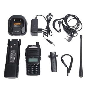 Image 5 - Baofeng UV 82 Plus talkie walkie 8W puissant 3800mAh batterie cc étendue UV82 double émetteur récepteur Radio bande PTT jambon Amateur UV 82