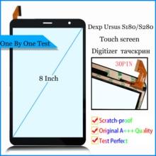 """Yeni 8 """"inç Dexp Ursus S280 / Dexp Ursus S180 / Dexp Ursus S380 3G dokunmatik ekran dokunmatik Panel sayısallaştırıcı cam sensörü"""