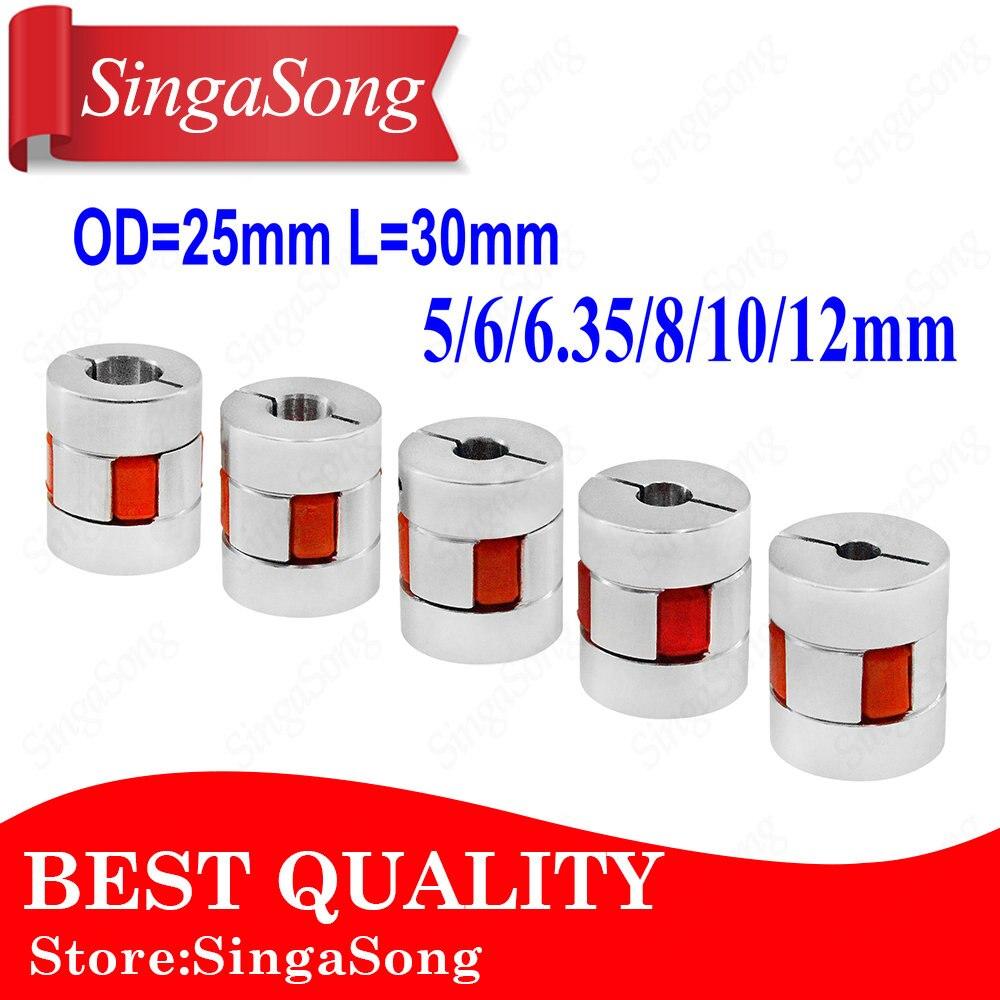 XB Coupler Aluminium Plum Flexible Shaft Coupling D25 L30