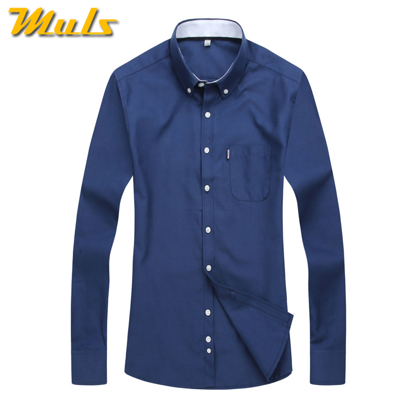 Buy plain shirt men casual brand clothing for Where to buy casual dress shirts