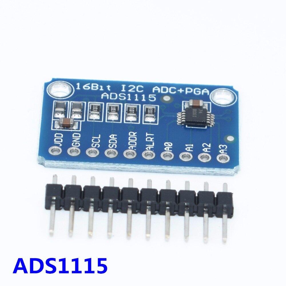 16-bit-i2c-ads1115-modulo-adc-de-4-canais-com-pro-amplificador-de-ganho-rpi-1-pcs