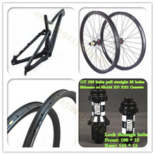 OEM Paint custom Newest 29er mountain bikes carbon MTB full suspension frame disc brakes 27.5er 650B BOOST frame
