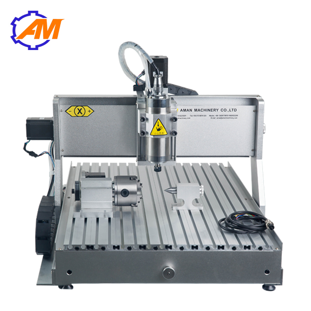 AM6040 800w 4 Axis Sculpture Wood Carving Cnc Router Machine Wood Chisel Carving Machine For Sale
