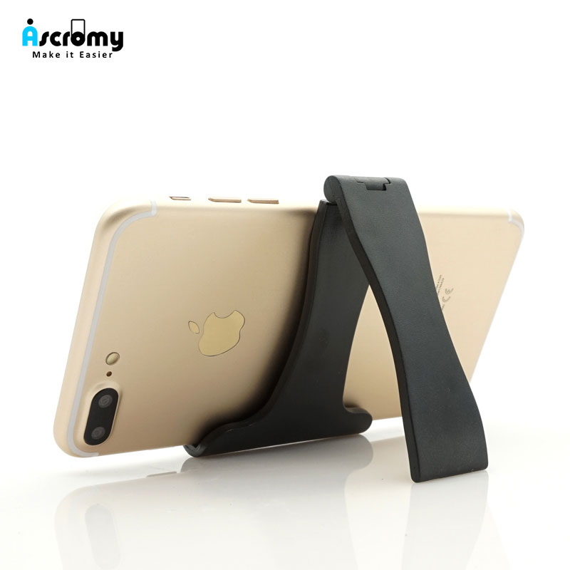 Ascromy Mini Mobile Phone Holder Stand For iPhone 7 8 X Oneplus 6 One Plus 5T Xiaomi Mi8 Redmi Note 5 4 pocophone f1 Lazy Holder mobile phone